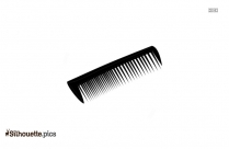Hair Comb Silhouette Image And Vector