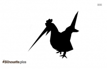 Chick Hatching Silhouette