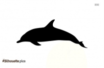 Dolphin Silhouette Vector Free Download