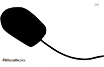 Computer Mouse Silhouette Outline