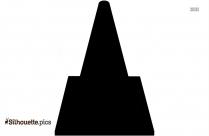 Pyramid Six Layer Clip Art Silhouette