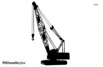 Construction Crane Silhouette Illustration