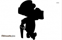Construction Worker Silhouette Clipart