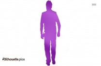 Construction Worker Silhouette Picture Vector