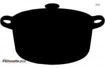 Spade Of Frying Pan Silhouette