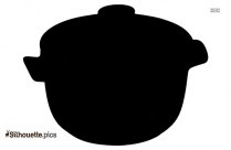 Cooking Pot Silhouette Vector And Graphics