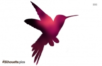 Free Flying Bird Silhouette Illustration