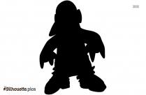 Penguin In Love Silhouette