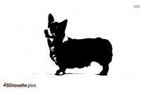 Welsh Corgi Symbol Silhouette
