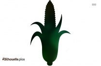 Corn Drawing Silhouette Vector And Graphics