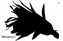 Corn Silhouette Symbol