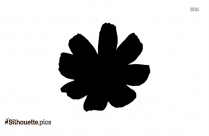 Lotus Flower Silhouette Image And Vector
