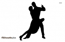 Couple Ballroom Dancing Silhouette