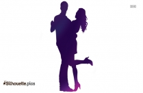 Couple Dancers Silhouette