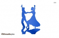 Couple Dancing Silhouette Clip Art Free