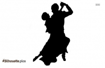 Couple Dancing Silhouette Image And Vector Art