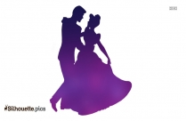 Couple Dancing Silhouette Image Free Download