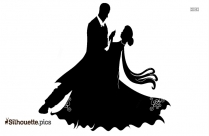 Couple Dancing Silhouette Vector And Graphics