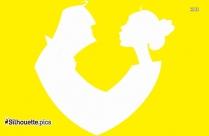 Couple Silhouette Symbol