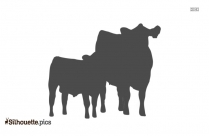 Cute Calfs  Clipart
