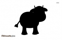 Beef Calf Silhouette Image And Vector