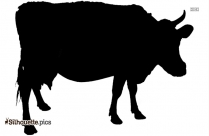 Cow Animal Silhouette Clipart
