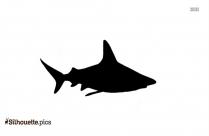 Fish Catching Prey Illustration Silhouette