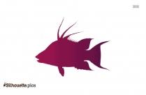Salmon Fish Clipart Silhouette