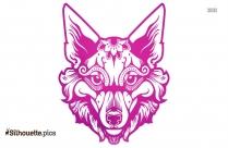 Coyote Tattoo Silhouette Image
