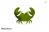 Crab Cartoon Drawing Silhouette Illustration