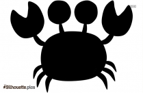 Crab Vector Silhouette Vector And Graphics