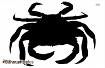 Crab Clipart Silhouette Image
