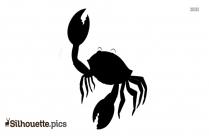 Crab Silhouette Clipart
