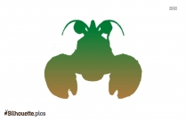 Crab Vector Silhouette Image And Vector