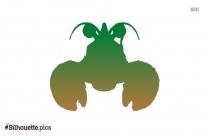 Baby Crab Silhouette Art