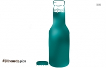 Craft Beer Bottle Silhouette