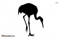 Real Dodo Bird Silhouette Stencil