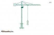 Crane Hook Silhouette Picture