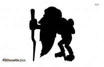 Free Mickey Mouse Silhouette Vector