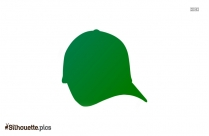 Cross Hat Silhouette Free Vector Art