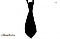 Cravat Silhouette Clip Art