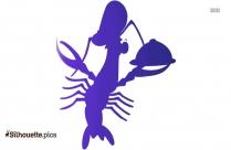Crawfish Silhouette Image