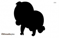 Baby Silhouette Background