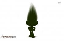 Trolls Karma Silhouette Clip Art