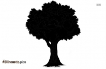 Haunted Tree Silhouette Image And Vector