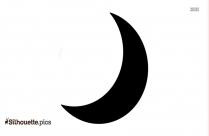 Crescent Moon Silhouette