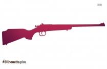 Crickett Gun Clip Art Silhouette