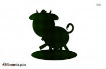 Cricut Cow Clipart Silhouette Image