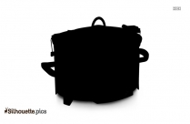 Cooker Silhouette Vector