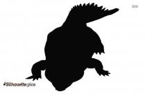 Crocodile Head Silhouette